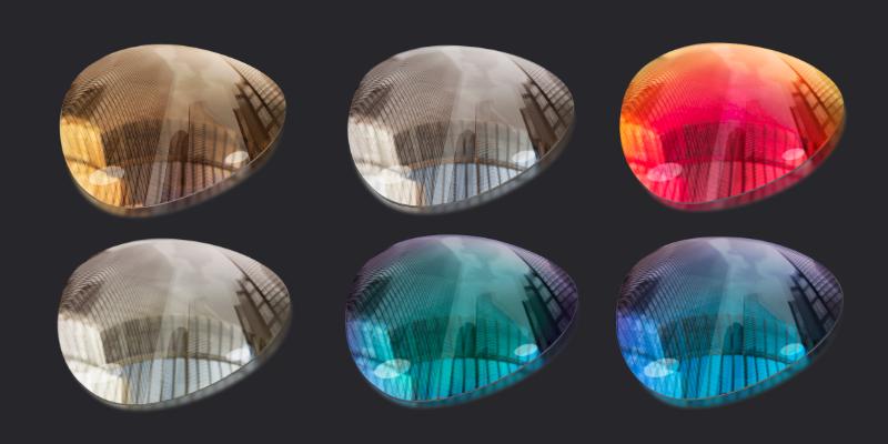 multi-coated lenses for sunglasses