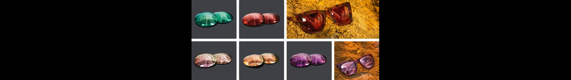 New colors and new coatings lenses by ESSILOR® SUN SOLUTION™